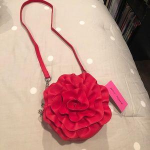 Betsey Johnson Rosette handbag 🌹